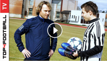 Freestyle challenge with Pavel Nedved!